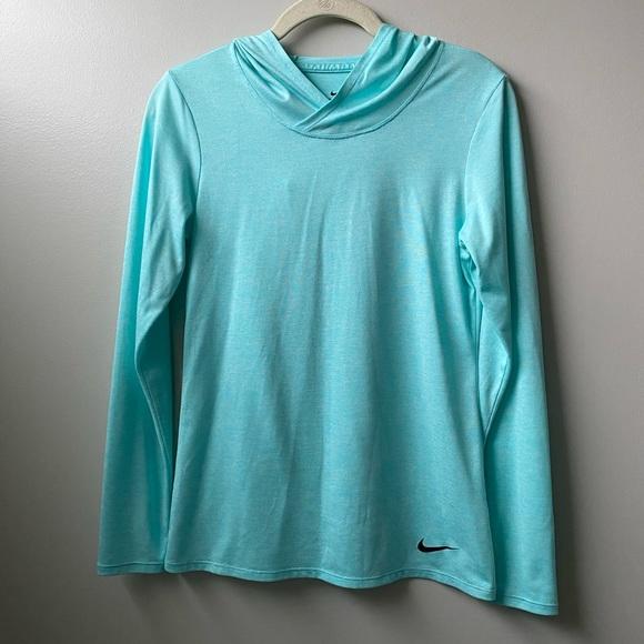 NIKE Dri Fit Hooded long sleeve shirt, size XS